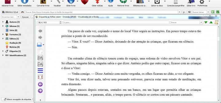 Calibre Autopublicação de ebooks