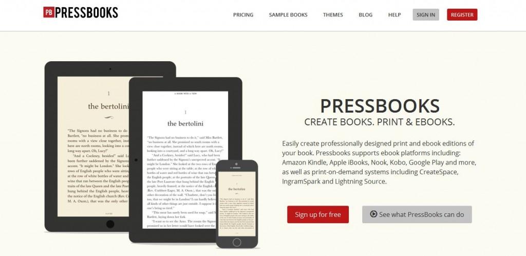 Autopublicação com o Pressbooks