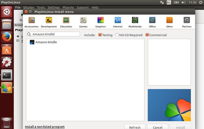 Kindle para Ubuntu