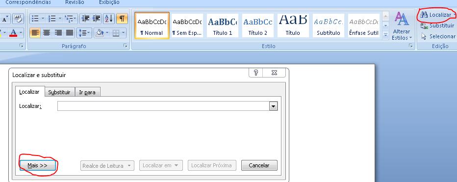 Word formatar ebook