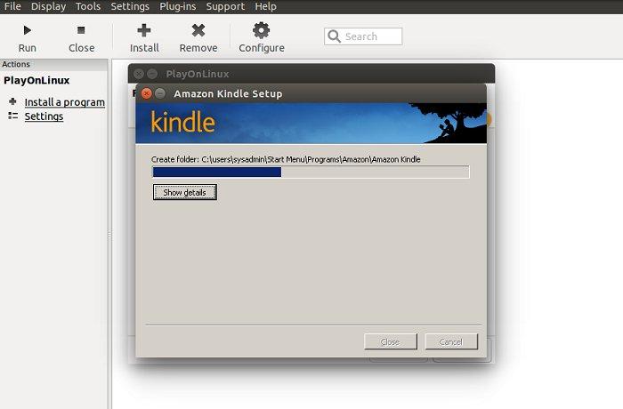 kindle para ubuntu 14-04