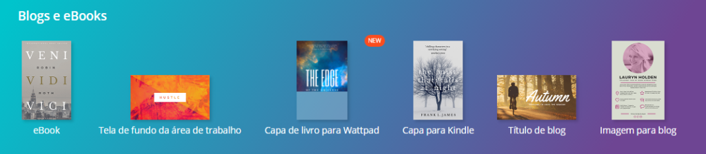 capas de ebooks no canva
