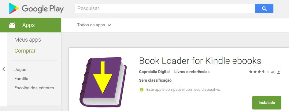 Book Loader para Kindle