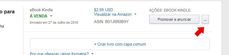 atualização de ebook na Amazon